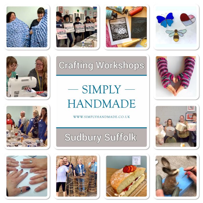CRAFTING WORKSHOPS poster SIMPLY HANDMADE revised