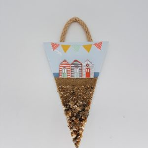 beach huts decoration