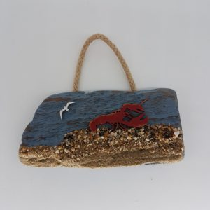 Driftwood Decoration with lobster