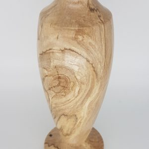 spalted beech woodturned vase