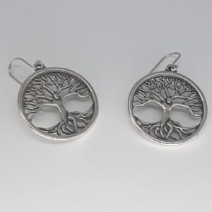 Tree of Life Pewter earrings