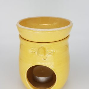 ceramic yellow oil burner